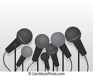 Microphones Multiple