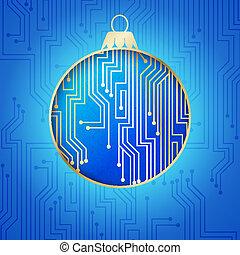 Microprocessor circuitry.