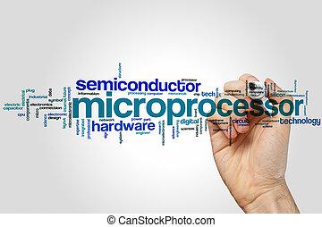 Microprocessor word cloud