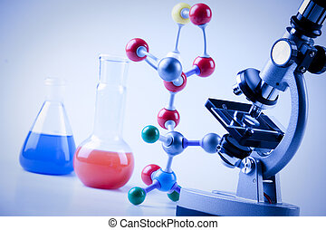 Microscope and molecules