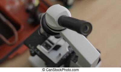 Microscope Laboratory Analysis