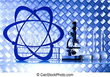 Microscope, Laboratory glass