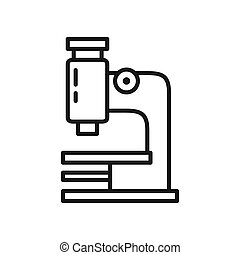 microscope research illustration design