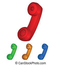 microteléfono, icono