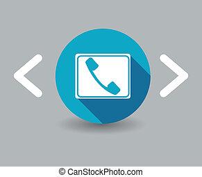 microtelefono, icona