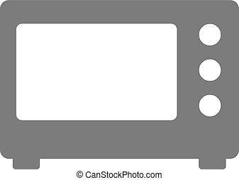 microwave icon. Microwave simple symbol. Vector microwave