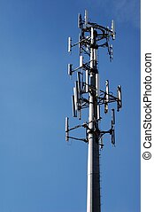 Microwave Tower - Photographed a local microwave tower in...