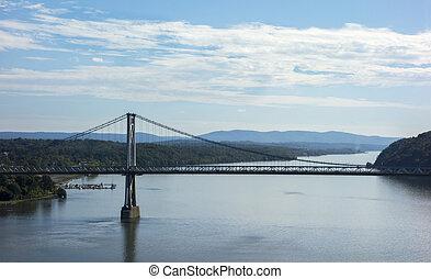 Mid-Hudson Bridge Over the Hudson