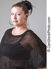 Mid-thirties woman - Portrait of a woman in her mid-thirties...
