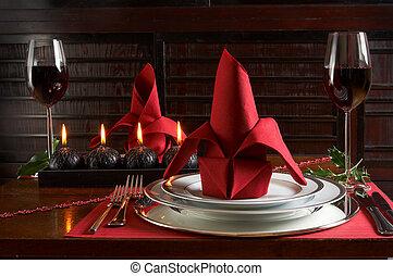middag, jul