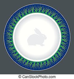 middag tallrik, design