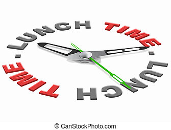 middageten tijdstip