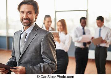middelbare leeftijd , werkgever