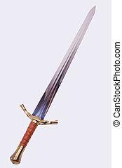 middeleeuws, zwaard