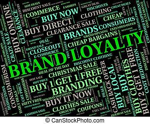 middelen, bedrijf, trouw, trouw, merk, identiteit