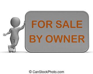middelen, verkoop, artikel, lijst, eigenaar, eigendom, of