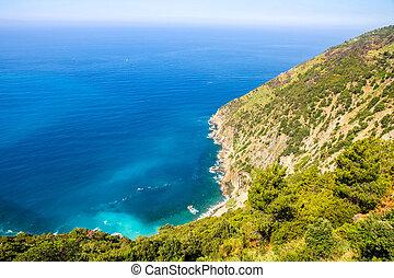 middelhavet hav, klipper