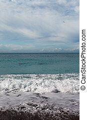 middellandse zee, waves.