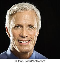 Middle aged businessman. - Caucasian middle aged businessman...