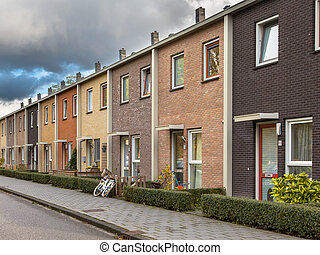 Middle Class Row Houses