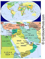 Middle East and World