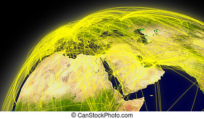 Middle East connections
