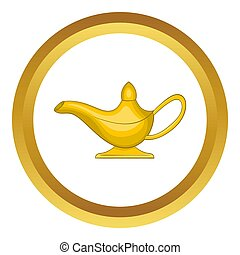 Middle east oil lamp  icon