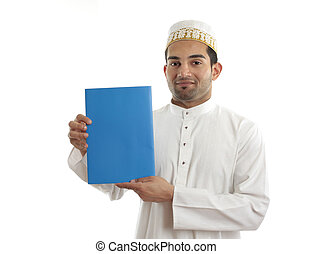 Middle eastern arab businessman