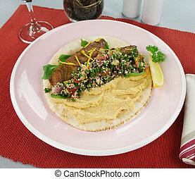 Middle Eastern Lamb Pita Bread