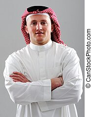 Middle Eastern man portrait