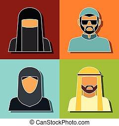 Middle Eastern people avatar