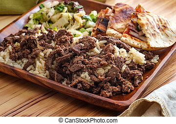 Middle Eastern Veal Shawarma