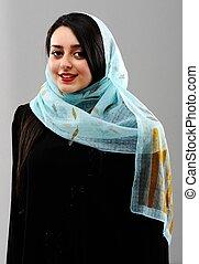 Middle eastern woman portrait - Arabic woman