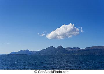 midfjorden, -, fiordo, noruega