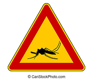 Midge warning sign