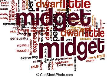 midget, 単語, 雲