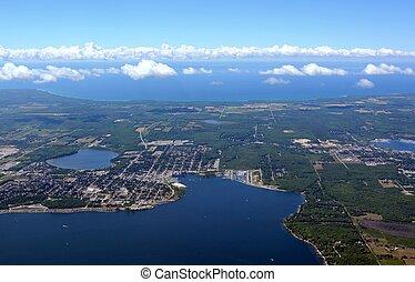 Midland, Ontario aerial