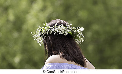 Midsummer Headgear Close Up