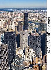 midtown曼哈顿, cityscape
