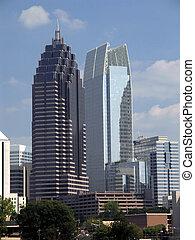Midtown Atlanta Skyline - partial - Midtown Atlanta Georgia...