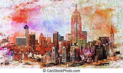 midtown manhattan, új york város
