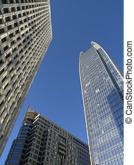Sky Skyscrapers in Midtown Atlanta
