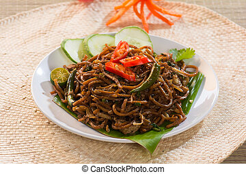 mie goreng mi goreng indonesian fried noodles : indonesian table setting - pezcame.com
