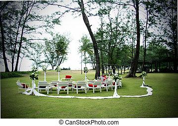 miejsce rozprawy, ślub