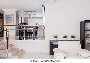 miejsce zamieszkania, nowoczesny, projektować, piękno