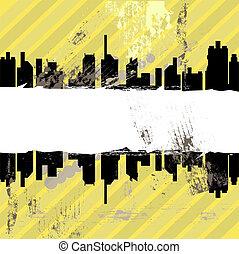 miejski, grunge, projektować