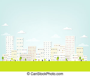 miejski krajobraz