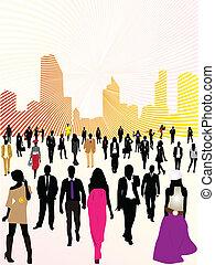 miejski, ludzie miasta