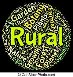 miejski, nie, słowo, agrariusz, środki, wiejski