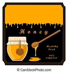 miel, amarillo